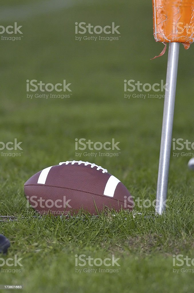 Fourth down and inches royalty-free stock photo