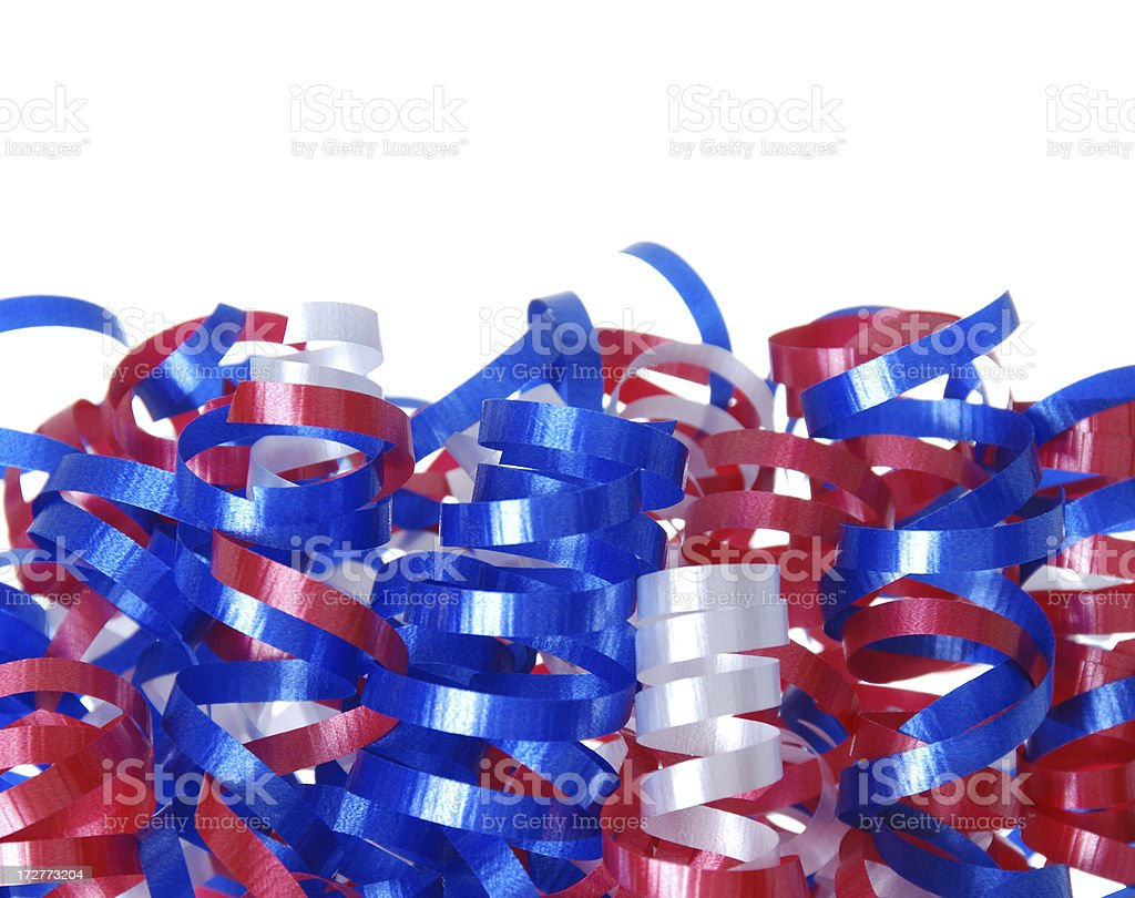 Fourth of July Border stock photo