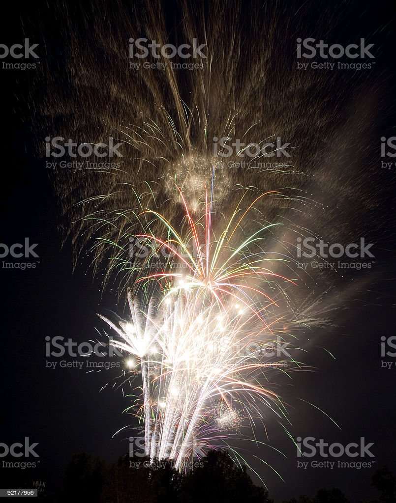 Fourth of July Fireworks 2006 royalty-free stock photo