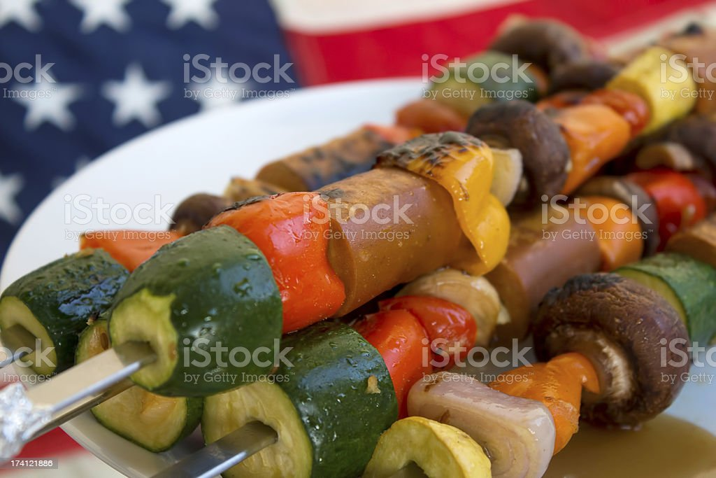 Fourth of July food royalty-free stock photo