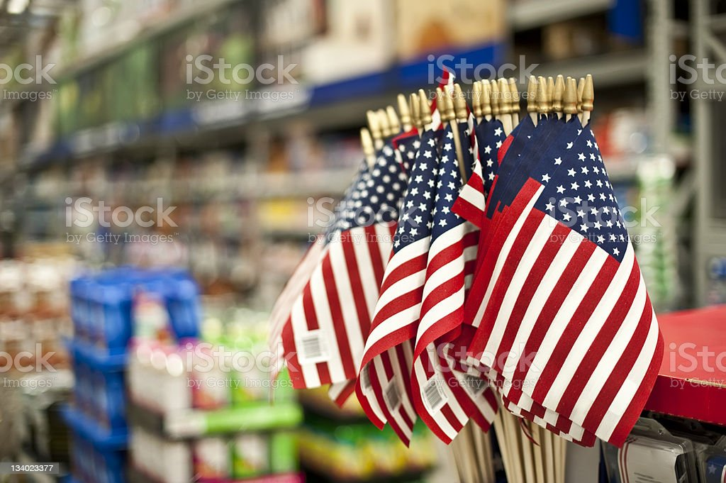 Fourth of july Sale stock photo