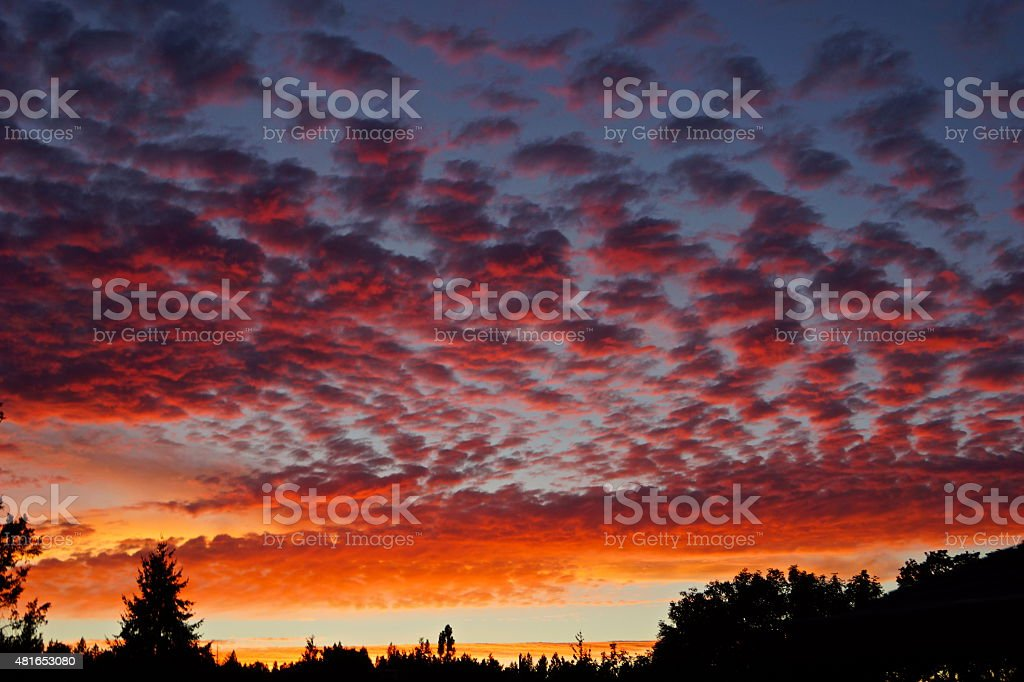 Fourth Of July Sky stock photo
