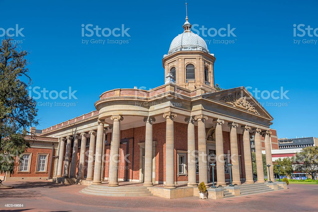 Fourth Raadzaal in Bloemfontein stock photo