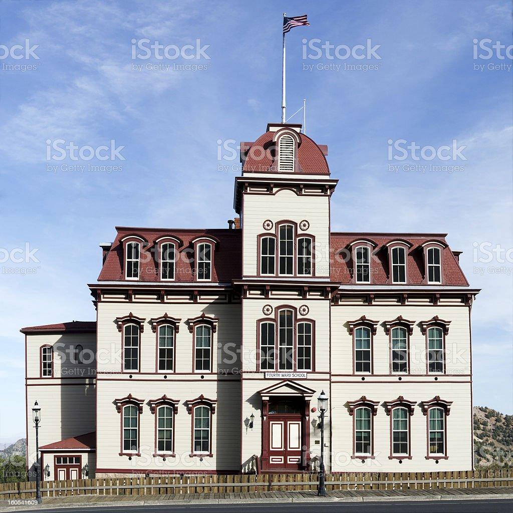 Fourth Ward School stock photo