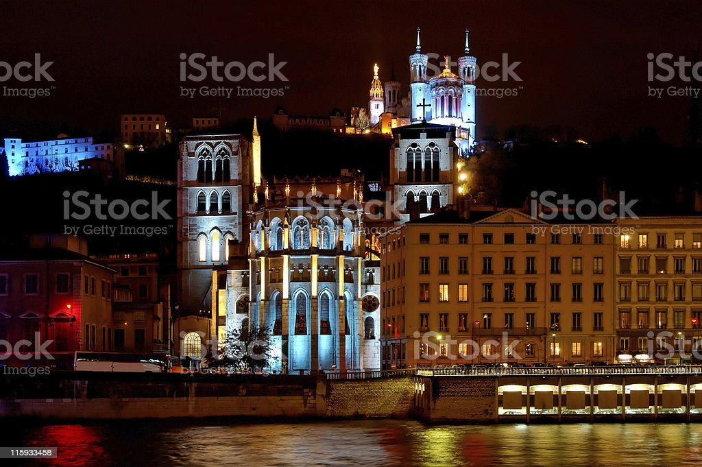 Fourviere Hill (Lyon, France) stock photo