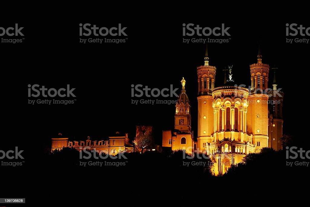 fourviere royalty-free stock photo