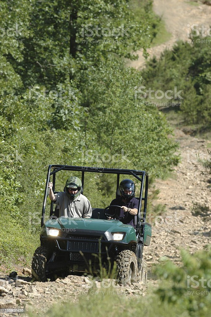 Four-wheeling royalty-free stock photo