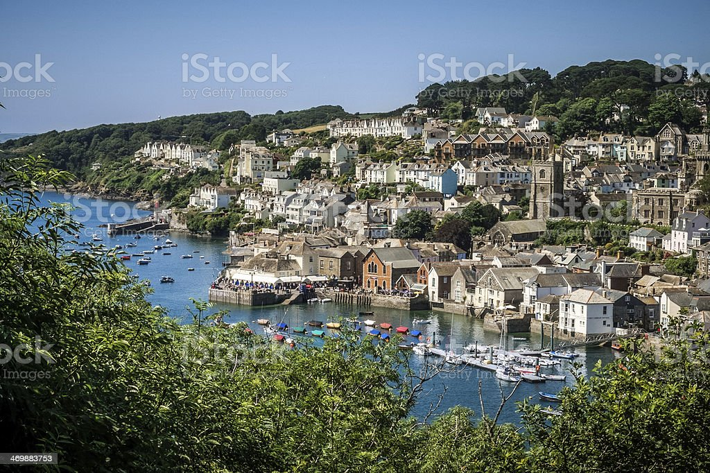 Fowey, Cornwall, England, United Kingdom stock photo