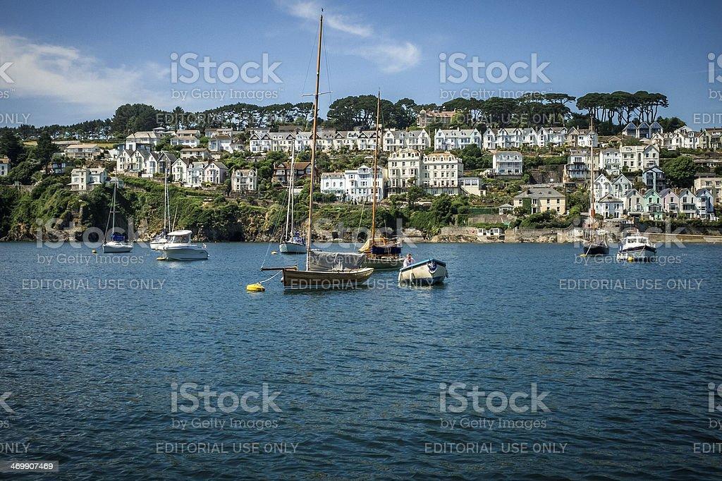 Fowey, Cornwall, England, United Kingdom stock photo