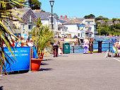 Fowey Quay, Cornwall.