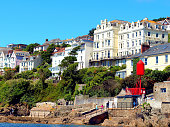 Fowey riverside, Cornwall.