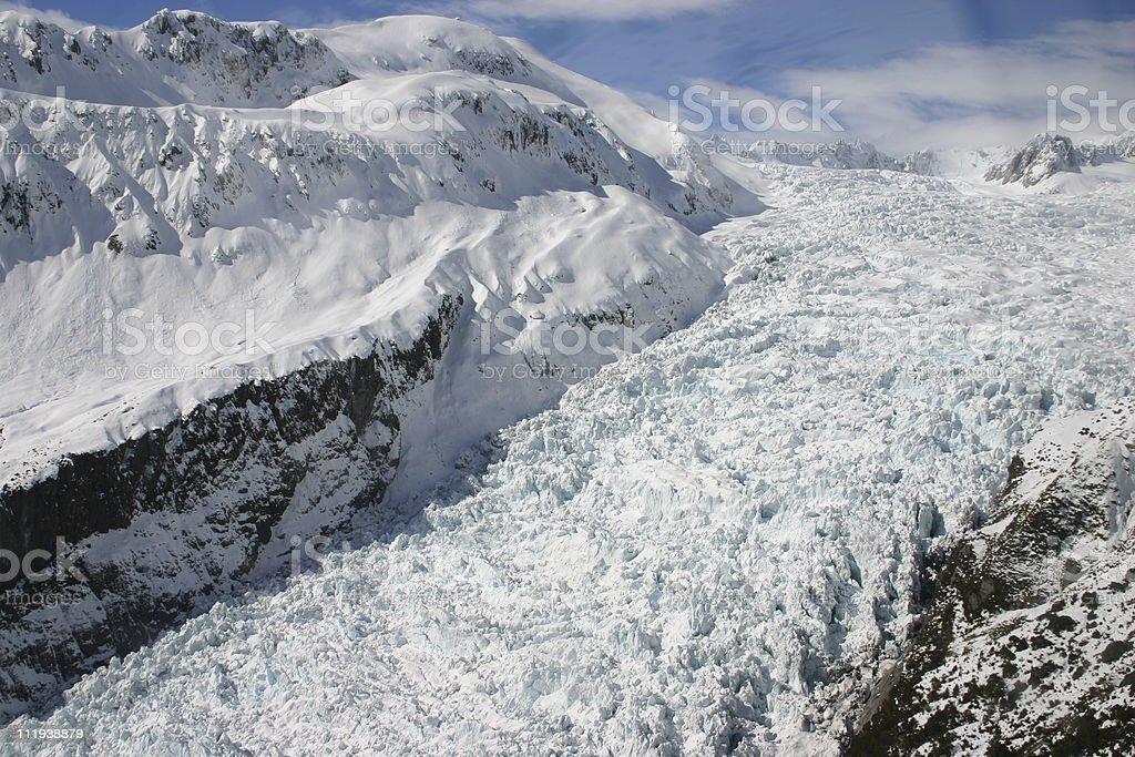 Fox Glacier - New Zealand royalty-free stock photo