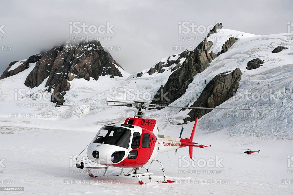 Fox Glacier - New Zealand stock photo