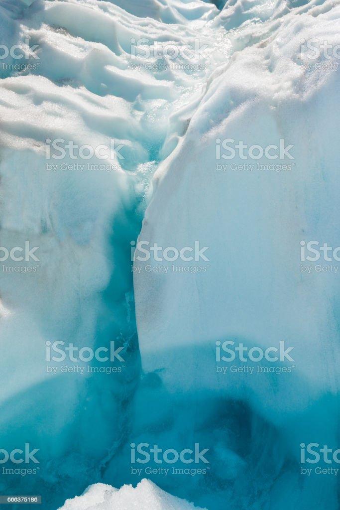 Fox glaciers gap, Southern island, New Zealand stock photo