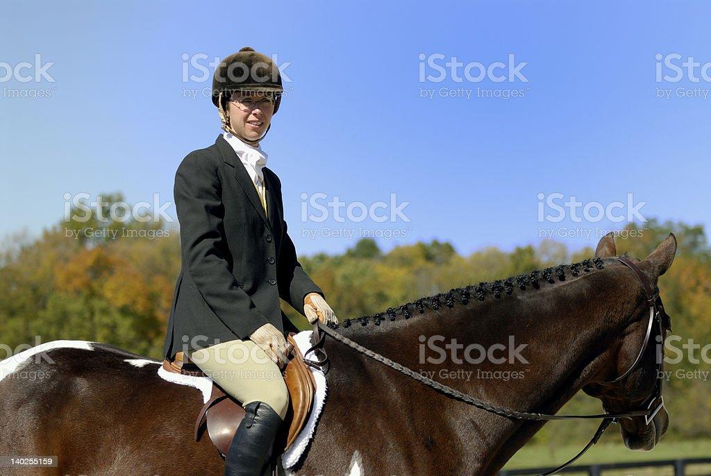 Fox Hunt royalty-free stock photo
