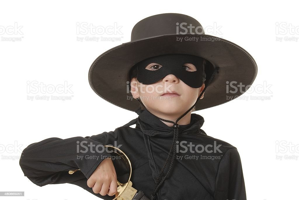 Zorro royalty-free stock photo