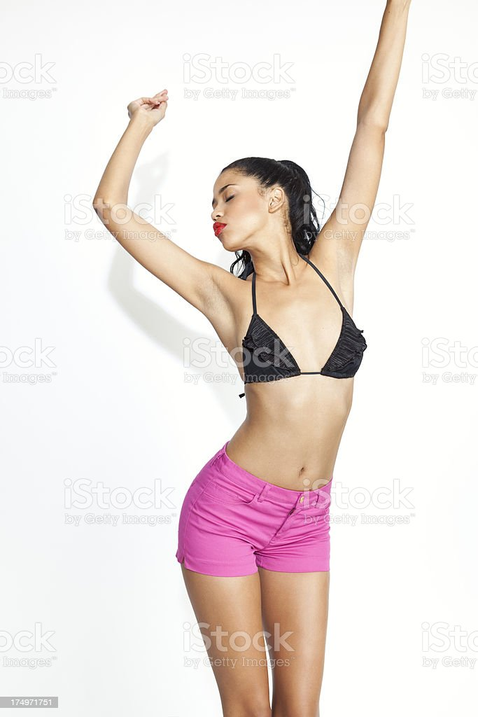 Foxy Lady stock photo