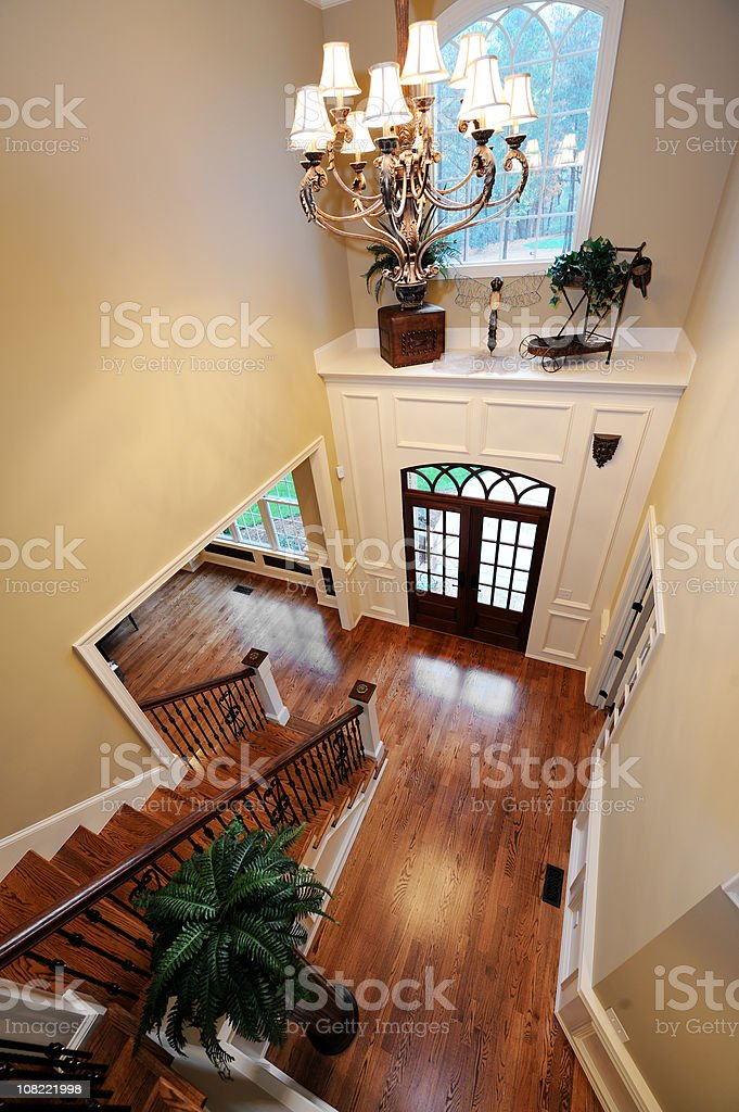 Foyer in Home Interior royalty-free stock photo