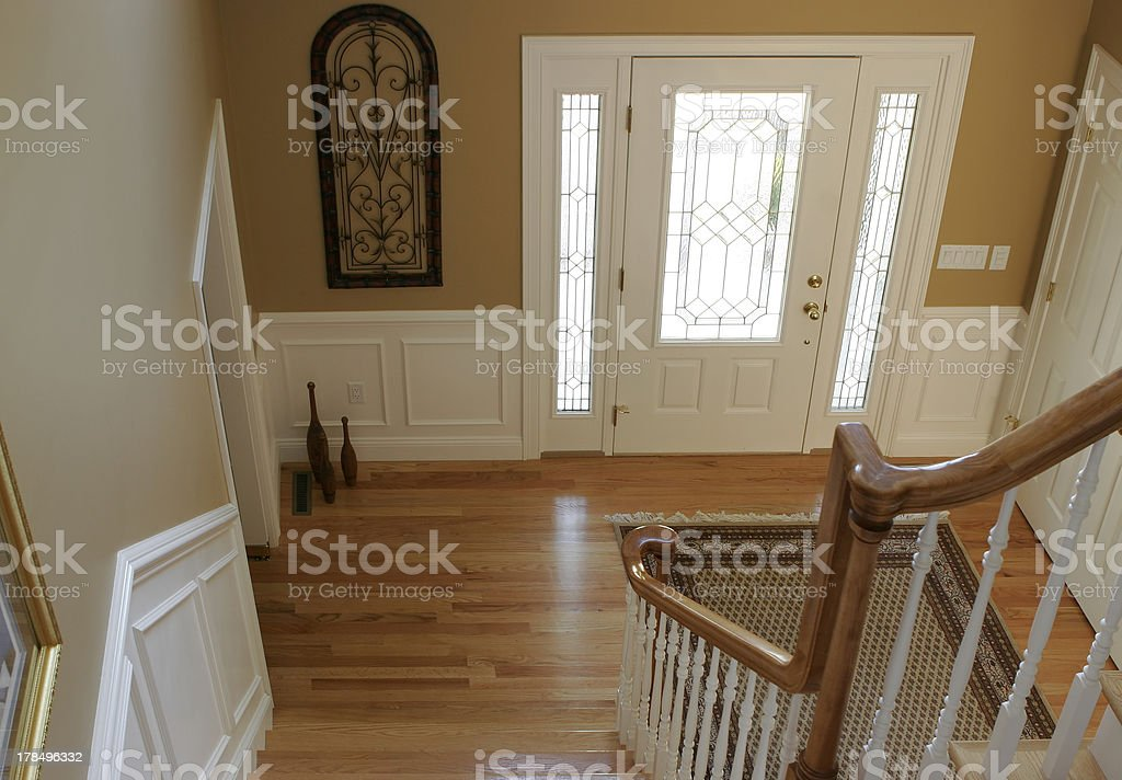 foyer view from above royalty-free stock photo