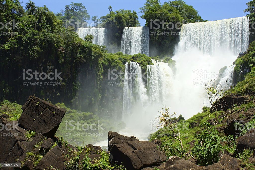 Foz do Iguacu stock photo