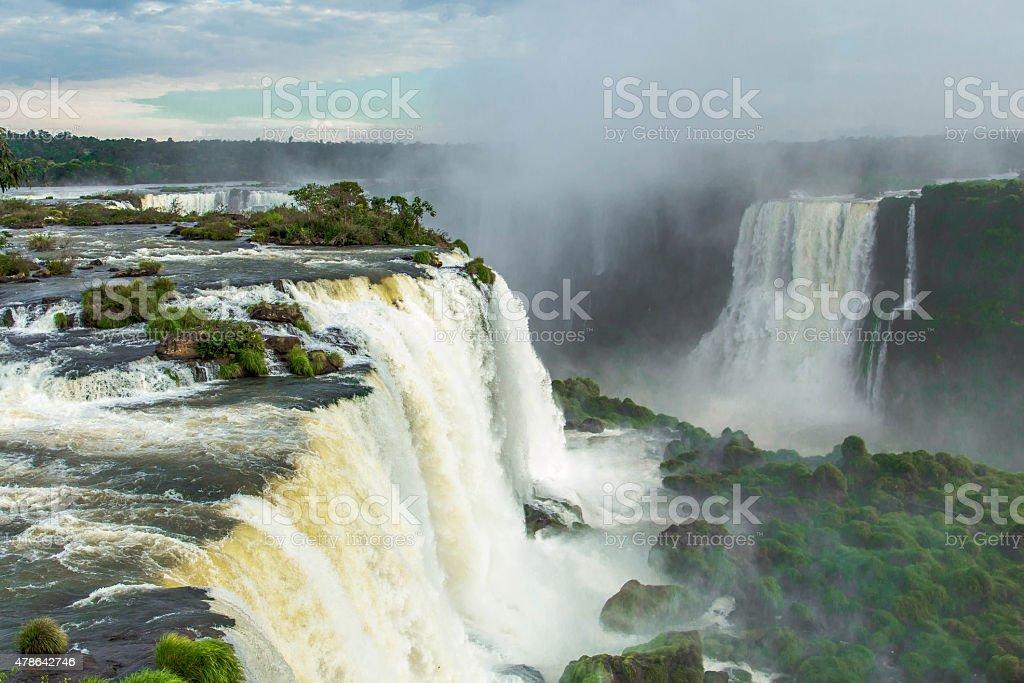Foz do Iguaçu Falls stock photo
