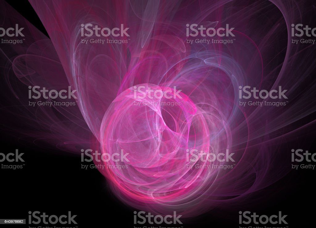 Fractal. Abstract background element stock photo
