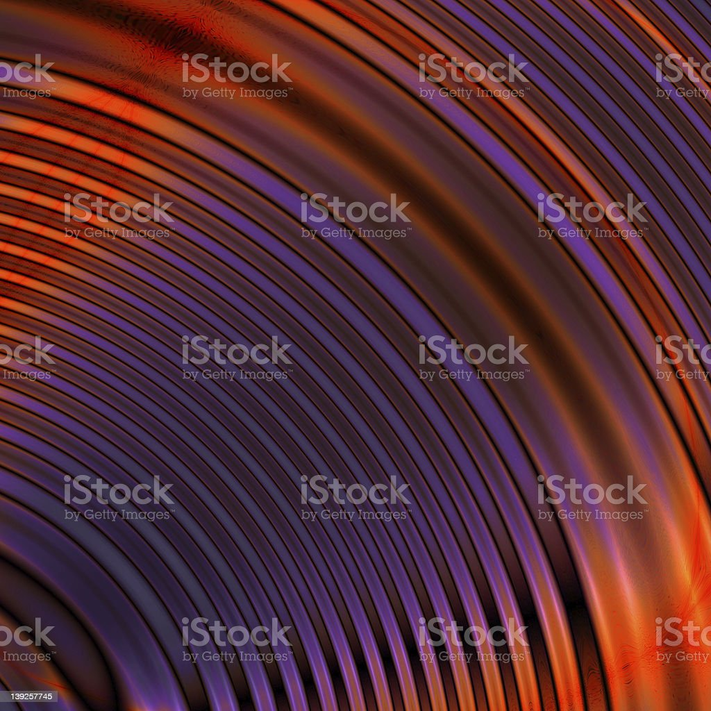 Fractal Circles royalty-free stock photo