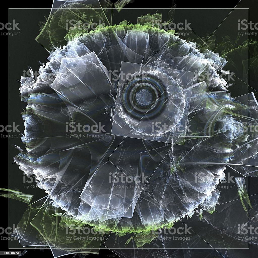 Fractal fantasy royalty-free stock photo