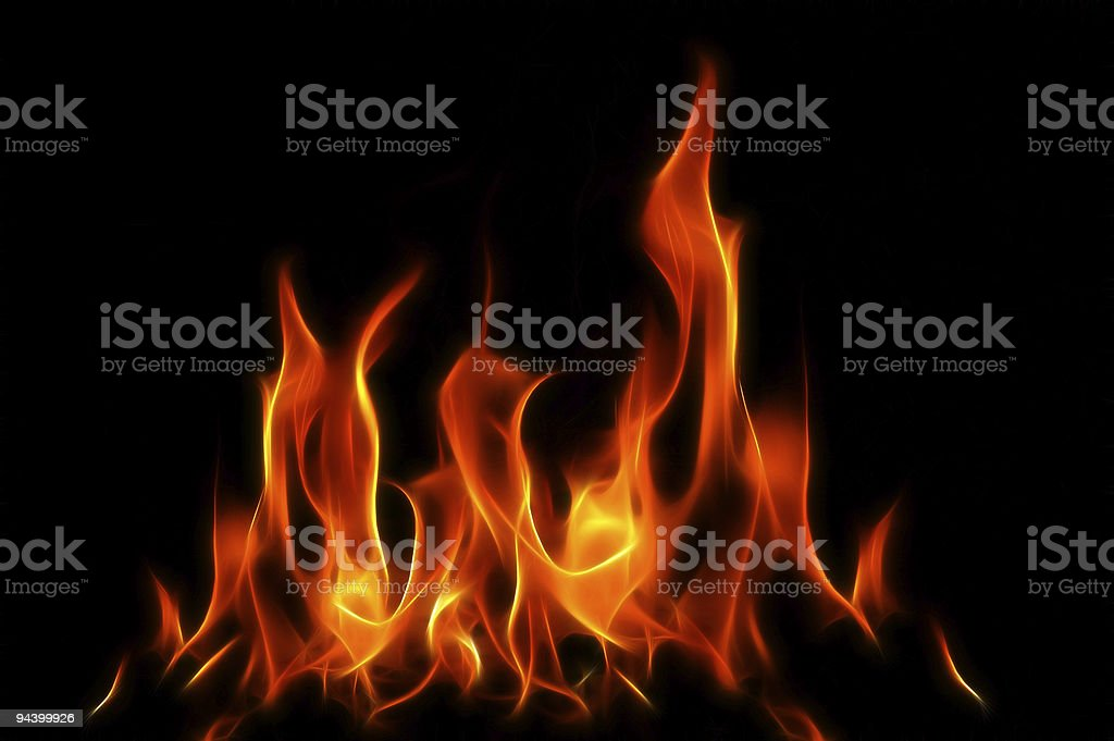 Fractal Fire XL royalty-free stock photo