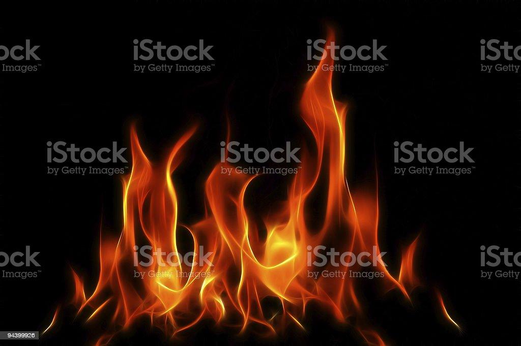 Fractal Fire XL stock photo