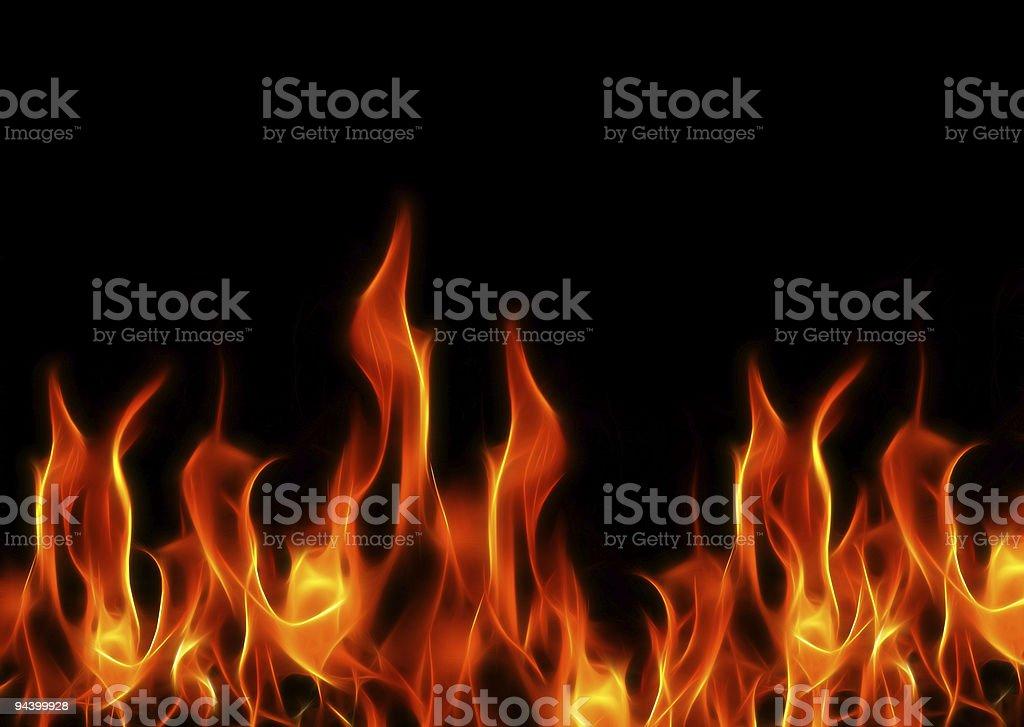 Fractal Flames XXL stock photo