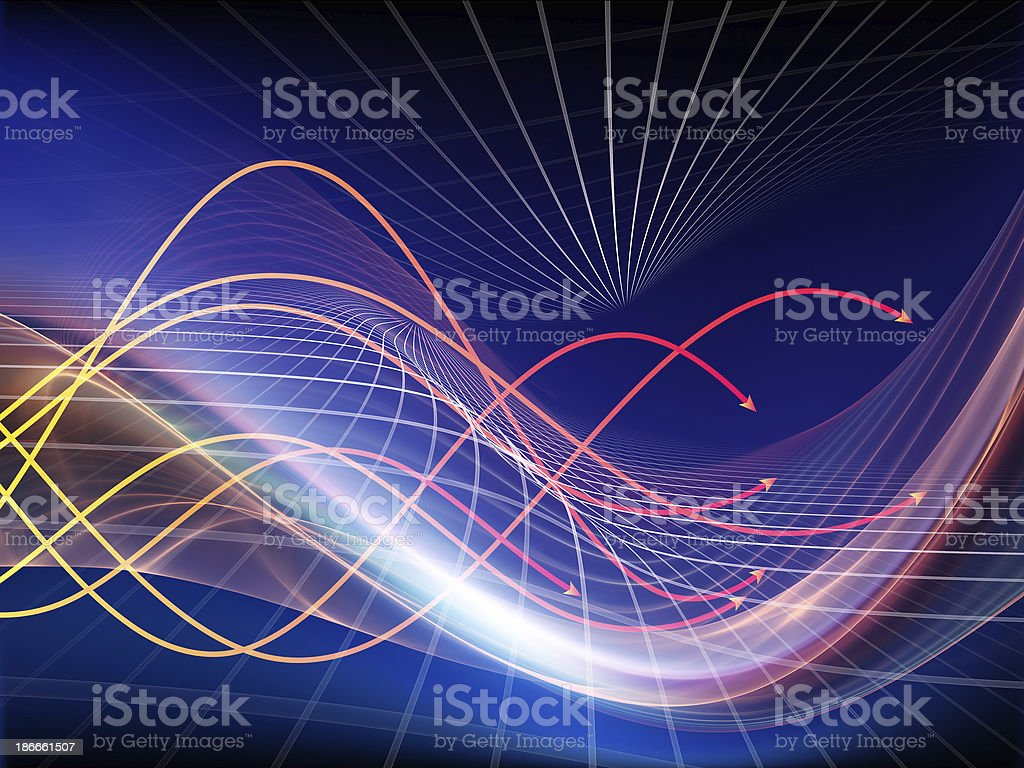 Fractal Realms Design stock photo