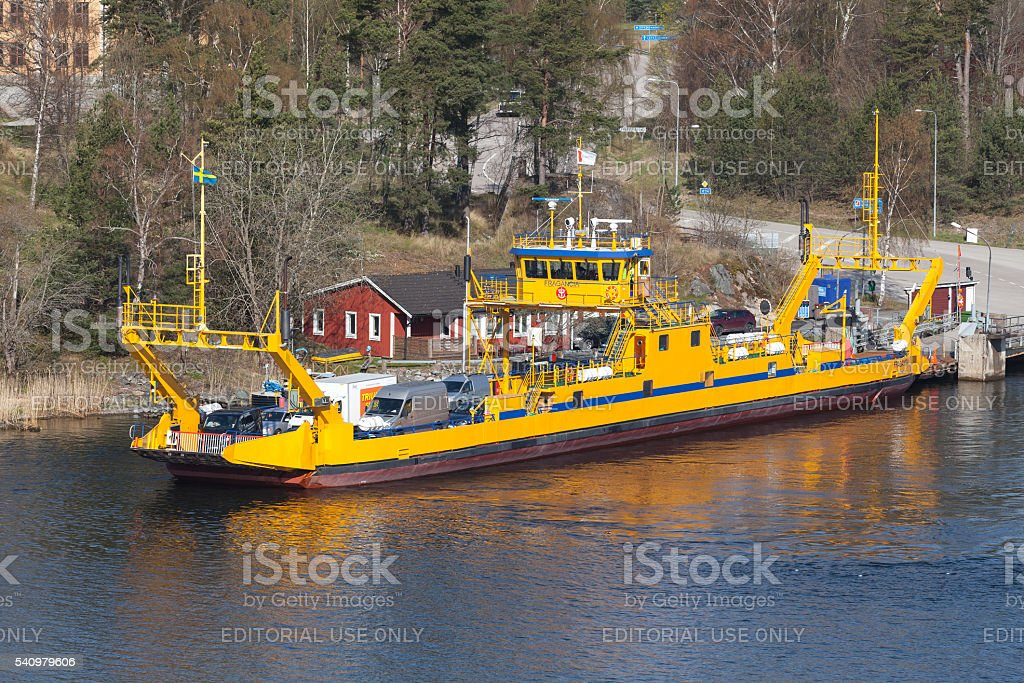 Fragancia by STA Road ferries, Sweden stock photo