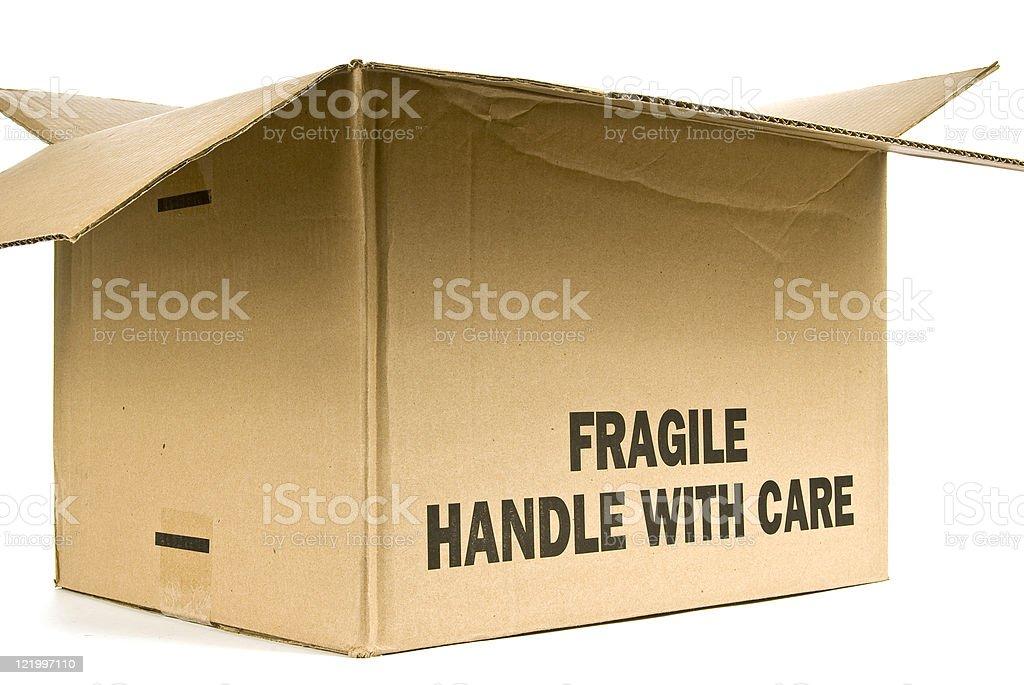Fragile Box royalty-free stock photo