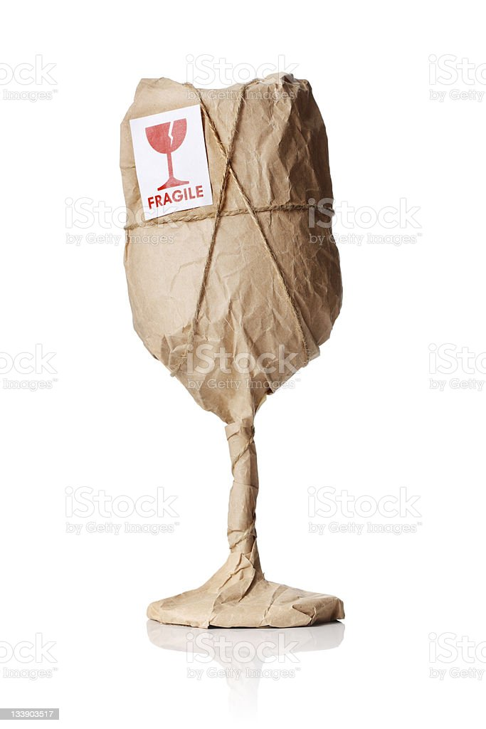 Fragile Contents royalty-free stock photo