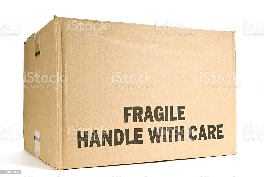 Fragile stock photo
