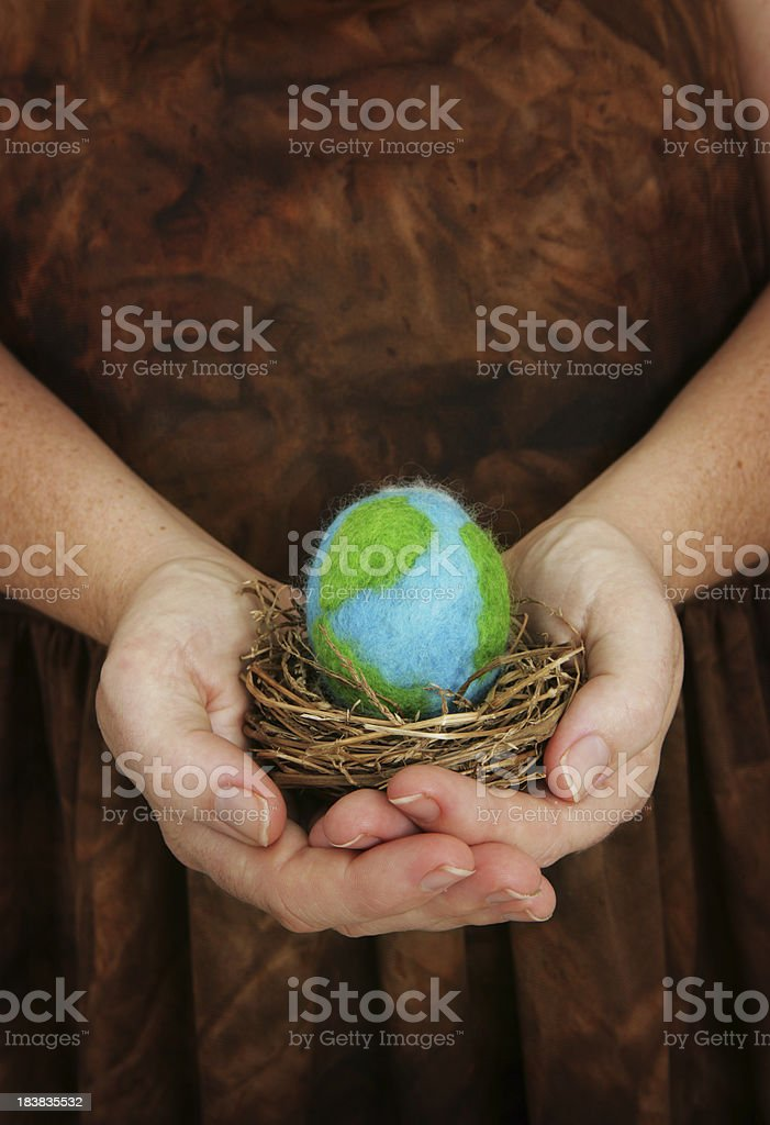 Fragile Planet royalty-free stock photo