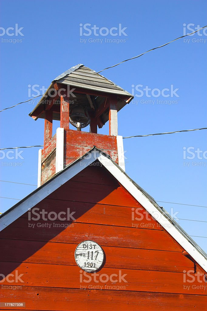 Fragment of a barn royalty-free stock photo