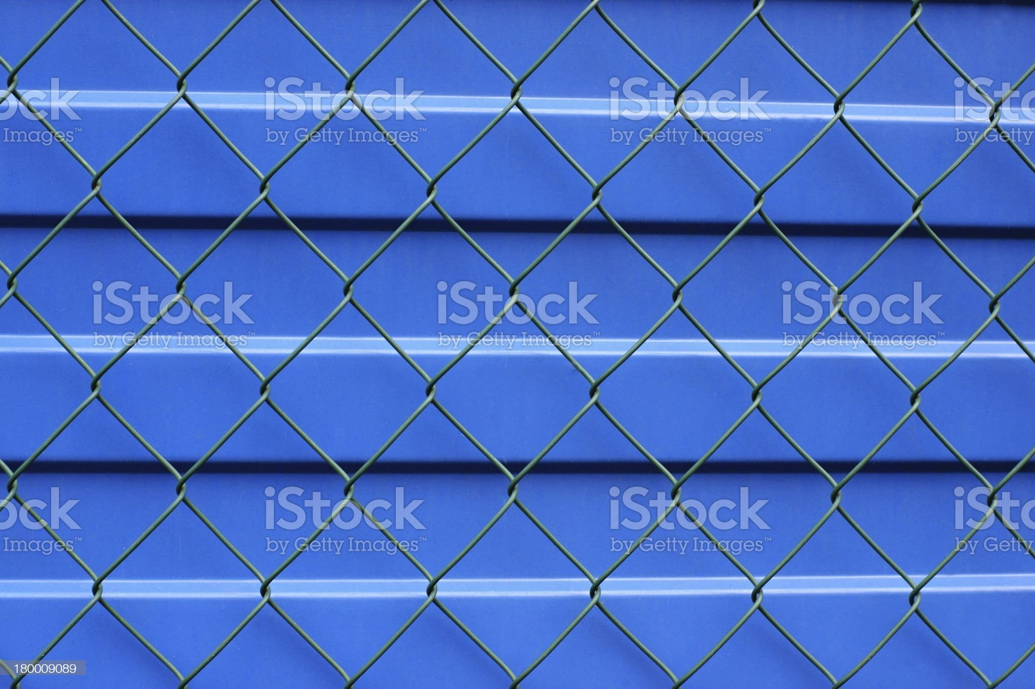 Fragment of a metal protection royalty-free stock photo
