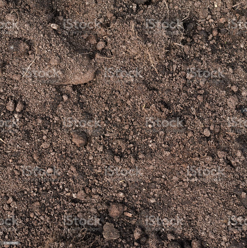 Fragment of an earth soil texture stock photo