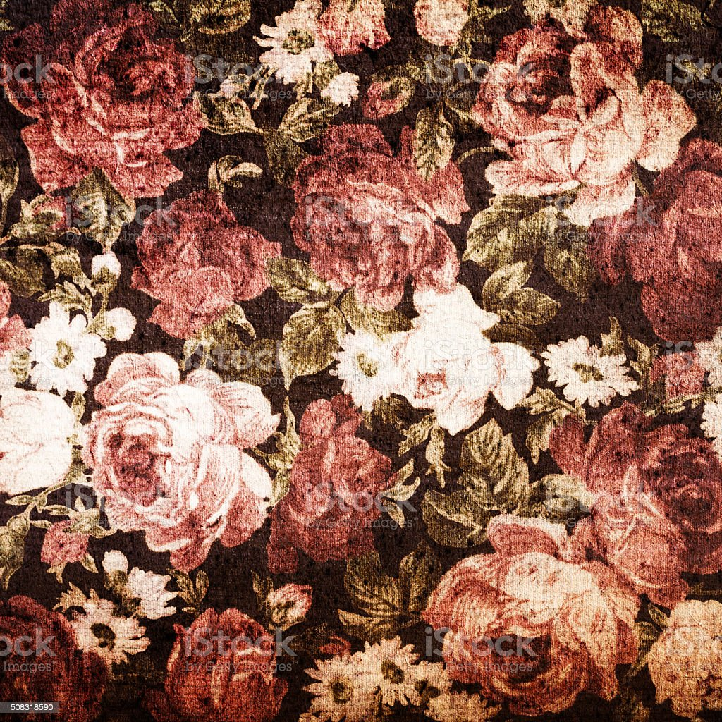 Fragment of colorful retro tapestry text, Fragment of colorful r stock photo