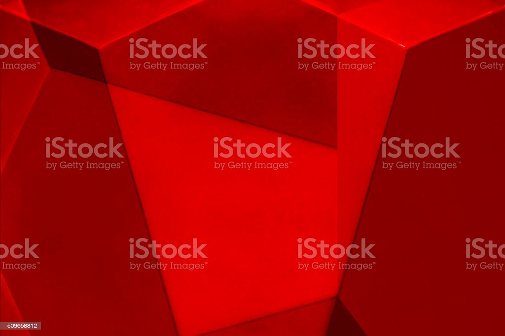 Fragment of fortress wall. Architectural etude in shades of red. stock photo