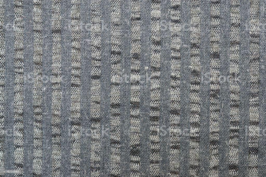 Fragment of gray fabric stock photo