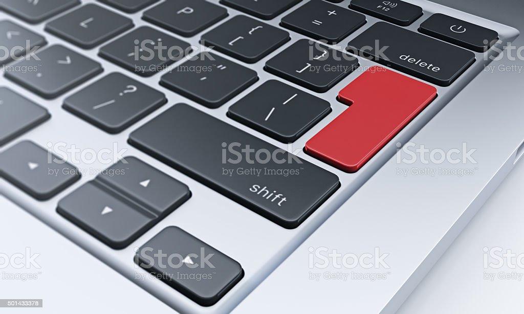 fragment of keyboard, communication stock photo