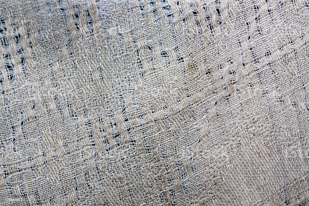 Fragment of old cloth royalty-free stock photo
