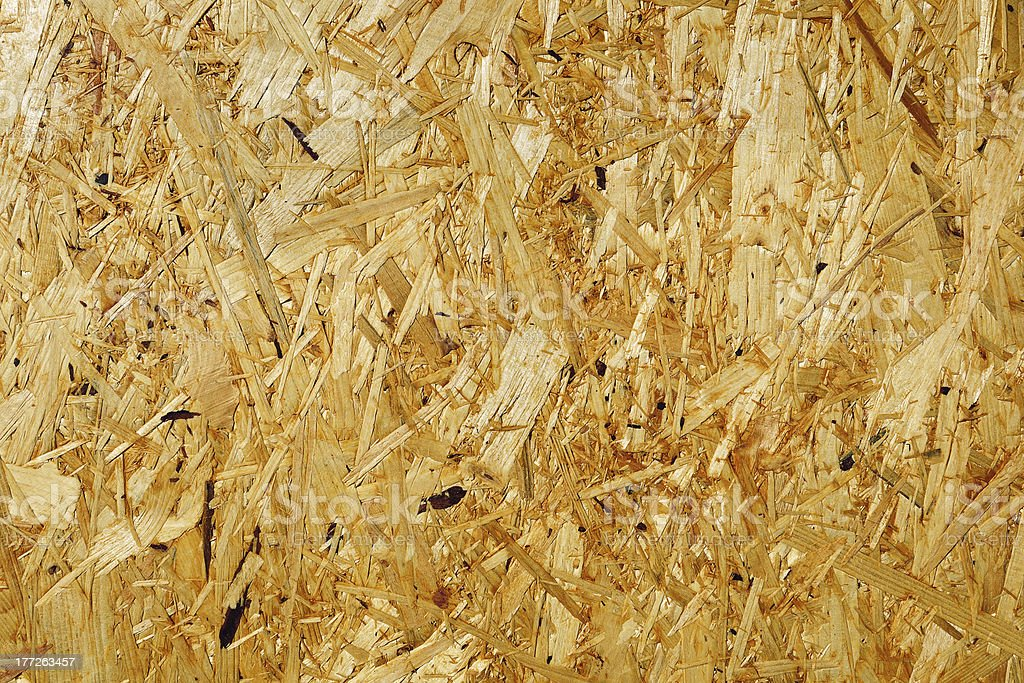 Fragment of wooden fibreboard panel surface royalty-free stock photo