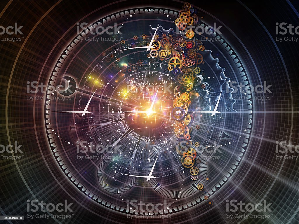 Fragments of Time stock photo