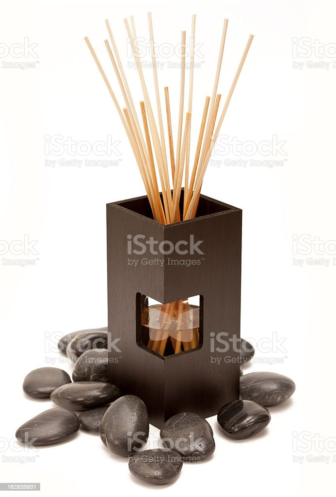 Fragrance Sticks royalty-free stock photo