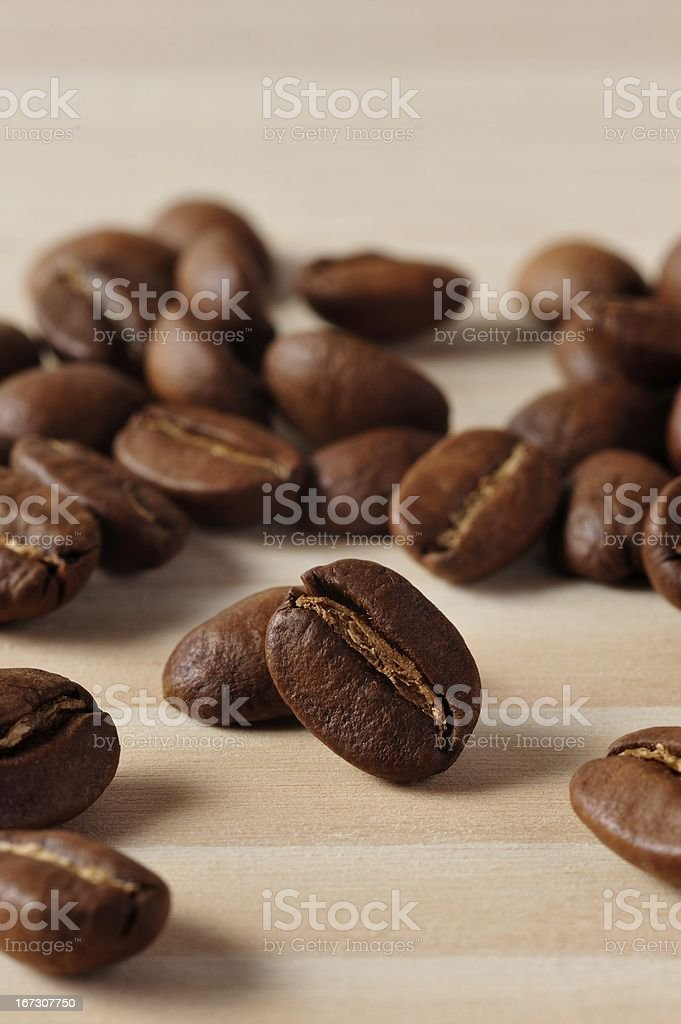 Fragrant Coffee Beans royalty-free stock photo