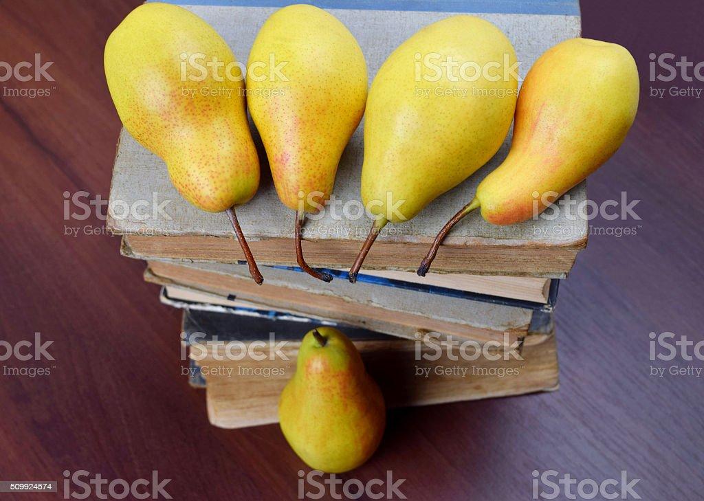 fragrant pears stock photo